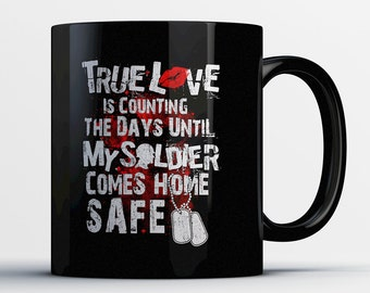 Army Wife Gift - Army Wife Mug - Gift for Soldier's Wife - Military Wife Coffee Cup - Military Family Ceramic Mug - Army Wives Gifts
