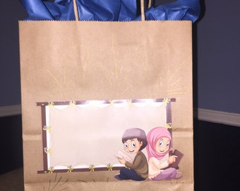 Eid/ramadan gift bags - custom message
