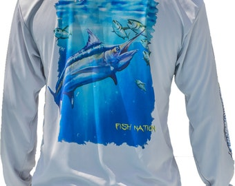 FISH NATION-High performance fishing shirt