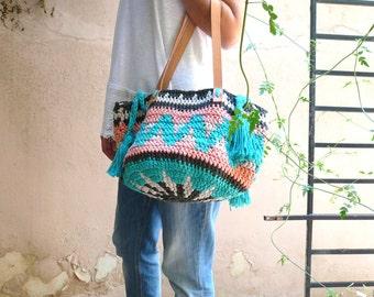 Boho ethnic/Crochet/ 100% cotton (SALE)