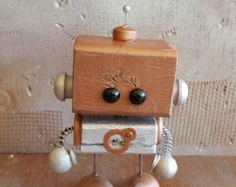 R.A.D.A.R. Wooden Robot