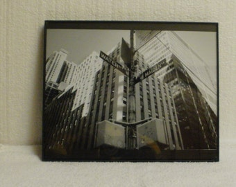 New York City Streetscape