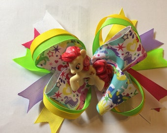 My Little Pony over the top hairbow
