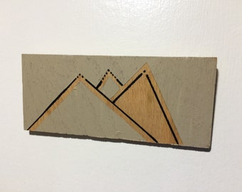 Mountains Minimalist Wall Art