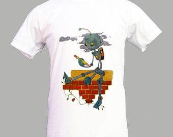 Robot T-shirt for Man