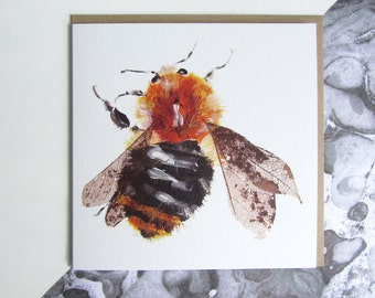 Common Bumble Bee Card