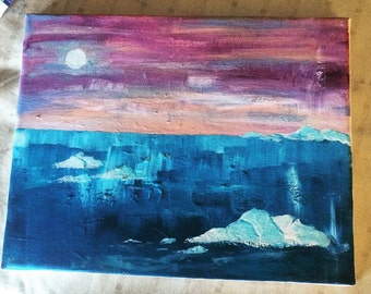 Mini Iceberg Landscape
