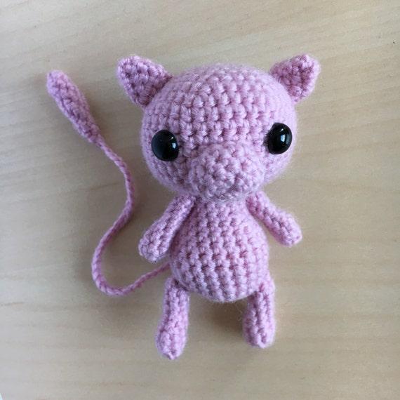 Crochet Pattern Mew Pokemon Amigurumi Pdf From