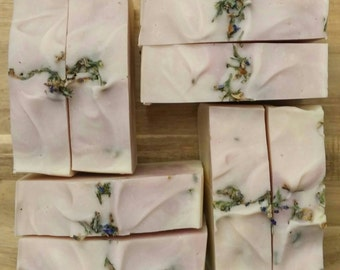 Simply Lavender Soap, Organic, Cold Process, Vegan, Handmade Soap