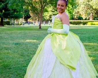 Princess Tiana Adult Ballgown