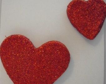 love heart fridge magnets