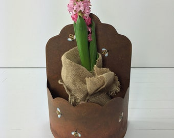 Vintage Honey Bee Container