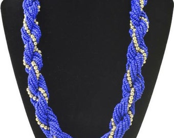 Handmade Blended Rope Necklace