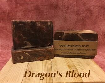 Dragon's Blood Homemad Soap