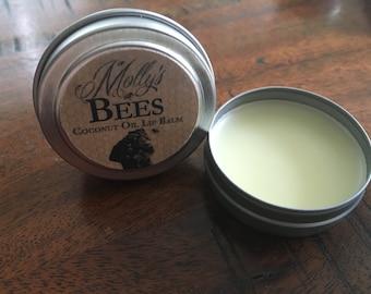 Organic Coconut Oil Lip Balm
