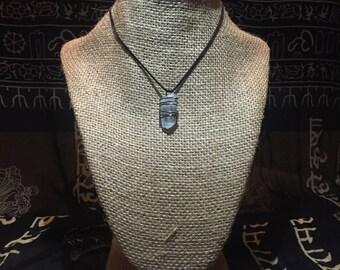 Aquamarine Wire Wrapped Choker