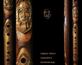 """Wooden flute """"Omega"""" Skyrim style"""