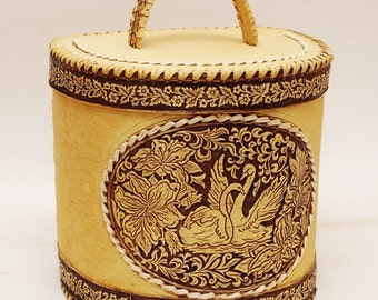 Breadbasket of birch bark