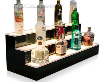 """36"""" Home Bar Shelving with LED Color Changing Lights"""