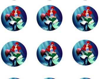 Little Mermaid Edible Images