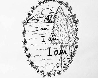 Sylvia Plath sketch