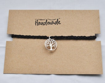 Handmade Tree Of Life Choker
