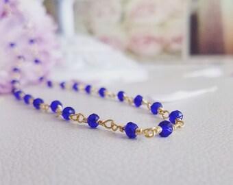 Deep Blue Necklace