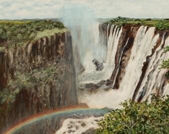 Victoria Falls - Rainbow View