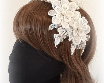 Lace Flower Headpiece