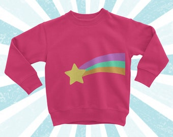 Child Size Mabel Pines Sweater - Gravity Falls Cosplay - Long Sleeve shirt - Mystery Shack - Dipper Pines - Mabel Sweater - Crew Sweatshirt