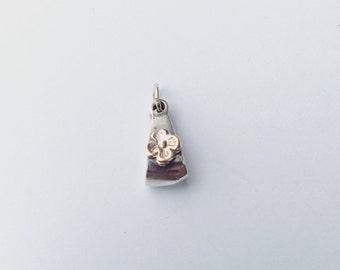 Pendant silver 925 and daisy flower@375 (9K)