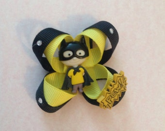 Batman Superhero Hair bow
