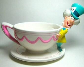 Alice in wonderland mad hatter candy dish