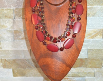 Great African inspired necklace