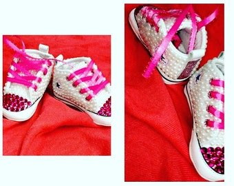 Baby Bedazzled Sneakers