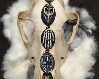 Bone Cameo Necklace - Choose Your Pendant