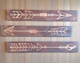 Directions - Rustic Wood Wall hangings