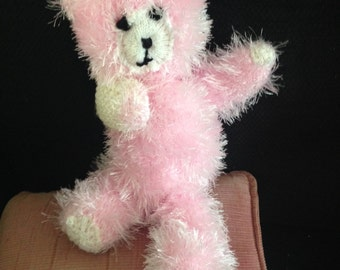 Medium-sized Hand knitted Teddy Bear