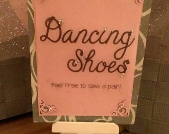Dancing Shoes Sign