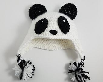 Adorable Panda Beanie