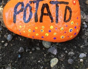 Potato garden marker