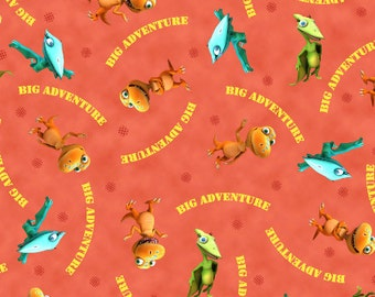 Buddy's Big Adventure Fabric From Quilting Treasures