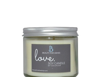 Love - Hand Poured Soy Wax Candle