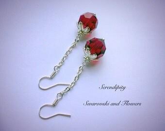 Beautiful Swarovski red
