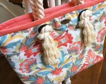 Peaches and Dreams Bag (Purse, Tote, Travel Bag)