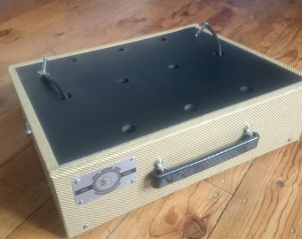 """18x12"""" Angled Pedal Board For Guitar Effects Pedals (Variety Of Colour)"""