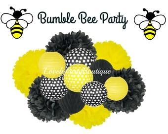 Bumble Bee Hanging Decoration Kit