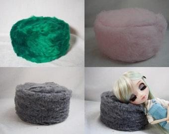 Beanbag Seat Bag Pullip Puppe 1/6 Barbie fluffy Blythe