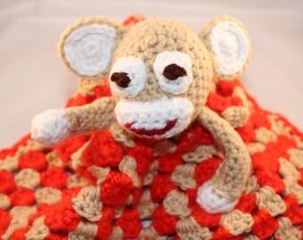 Baby Blanket - Monkey
