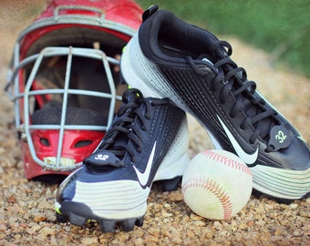 Baseball number/Sports number/Baseball Team Gift/Sports/Shoe Swag/Personalized Cleats/Stocking Stuffers/Shoe Number/Cleats